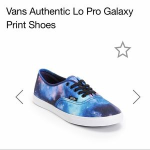 VANS Lo Pro Galaxy Print Shoes
